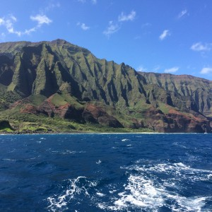 Na Pali Coast in North Kauai, Hawaii